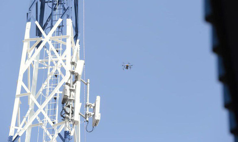 Brasil inaugura primeira antena rural para a internet 5G