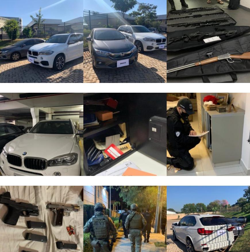 Draco prende 14 investigados de integrar grupo que chantageava e cobrava propina de empresários em Goiás