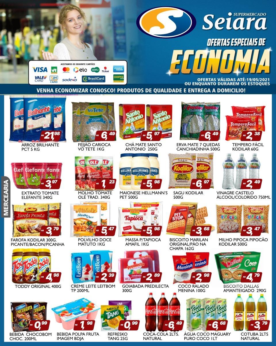 Supermercado Seiara Econômico: confira o novo folheto de ofertas