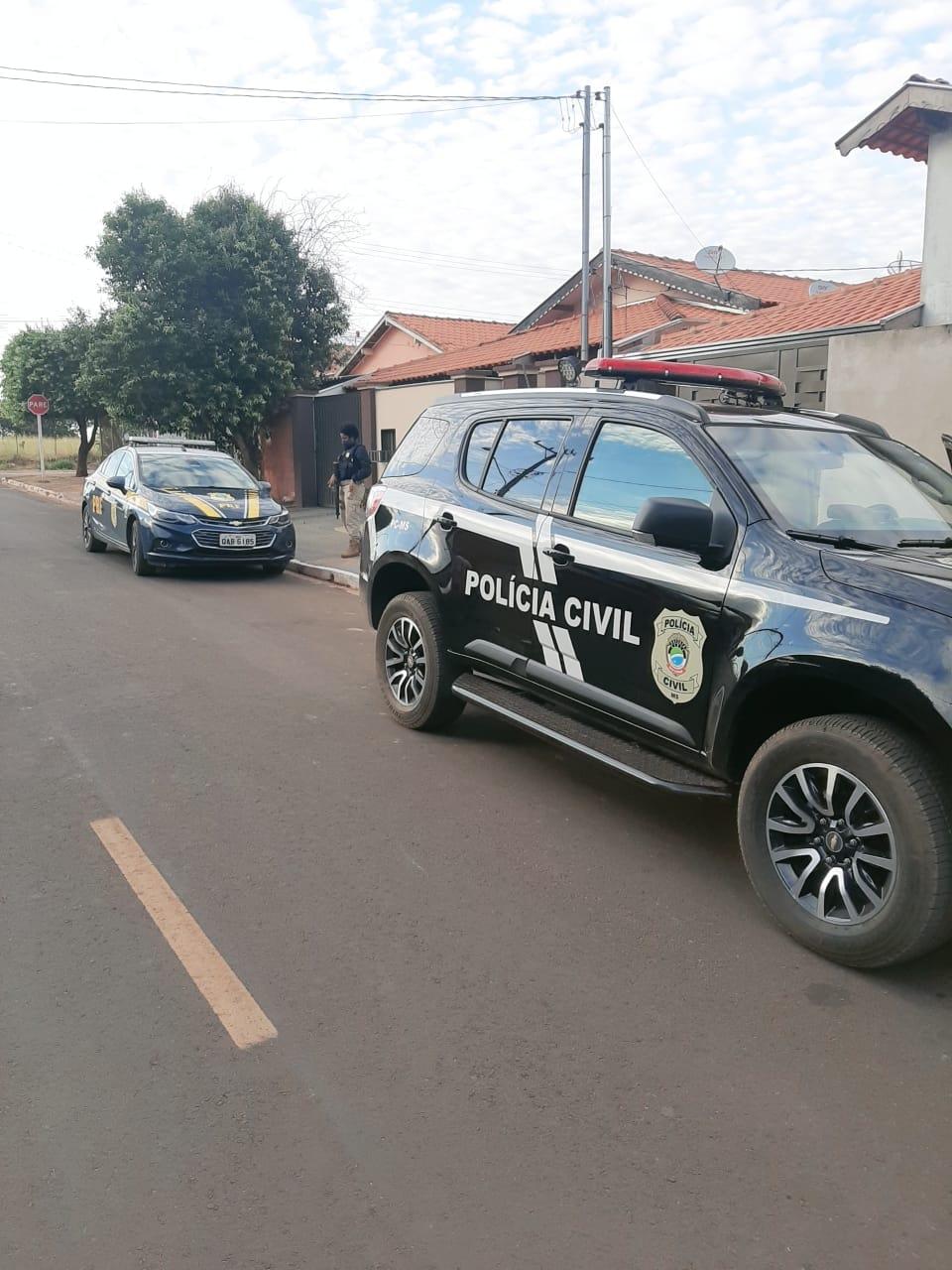 Operação captura membros de organização criminosa em Inocência e Cassilândia