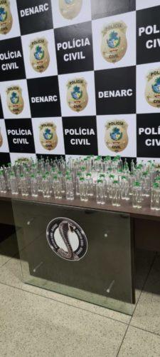 Denarc apreende 100 frascos de lança-perfume em Goiânia