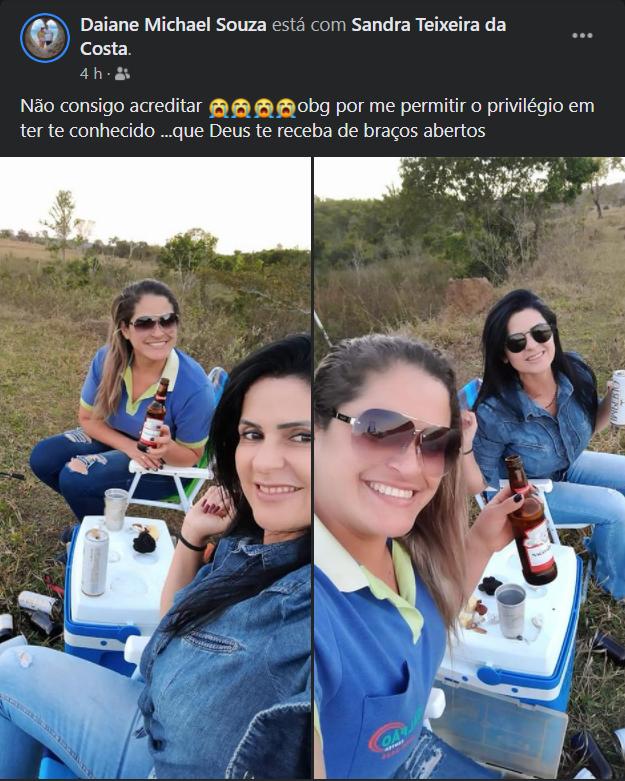 Maria Sandra Teixeira da Costa: amigos prestam homenagens