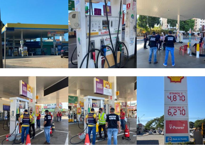 PC e Procon fiscalizam novo aumento nos postos de combustíveis em Goiânia