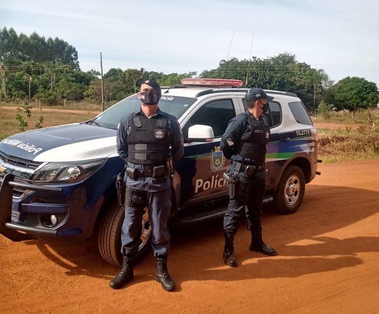 Mais um mandado de prisão cumprido pela Polícia Militar em Inocência