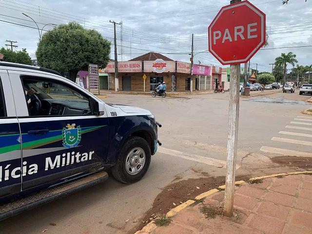 Polícia Militar conduz homem à delegacia por cometer furto em Paranaíba