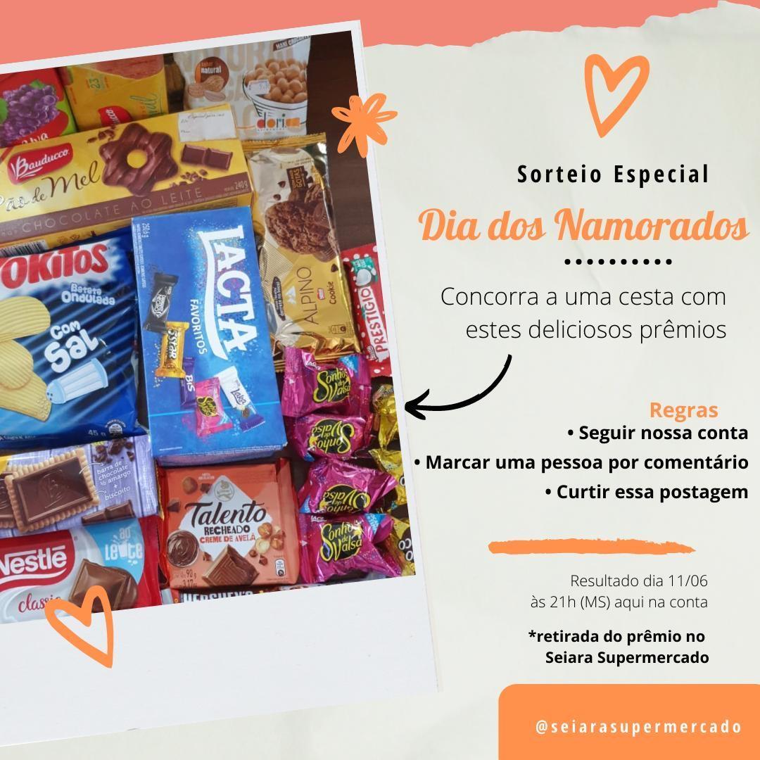 Seiara Supermercado sorteará cesta de produtos amanhã; saiba como participar