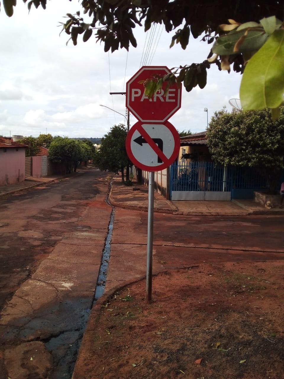 Demutran informa mudança do sentido de via no Jardim Campo Grande