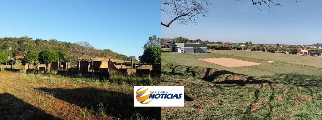 Fotogaleria: o antes e o depois de uma área de lazer em Cassilândia