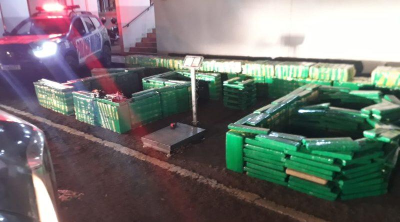 Fotogaleria: três toneladas de drogas são apreendidas em Jataí, Goiás
