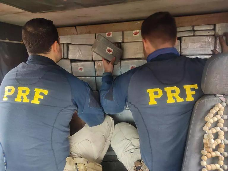 PRF apreende carga de cocaína avaliada em R$ 14,5 milhões em Paranaíba