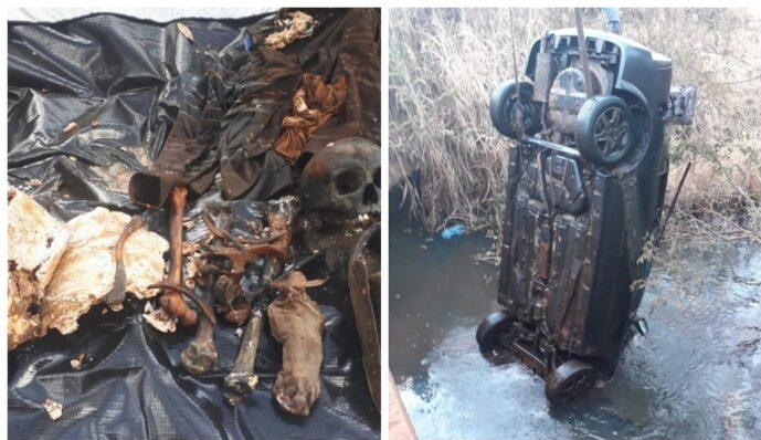 Segunda ossada humana é encontrada em rio onde carro sumido desde 2014 foi localizado