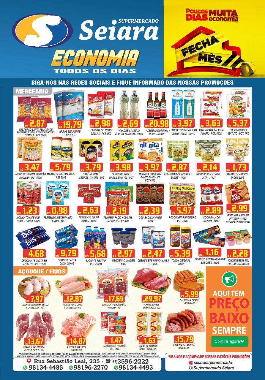 Seiara Supermercado Econômico: ofertas imperdíveis da semana; confira