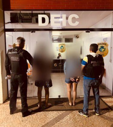 Polícia prende em flagrante casal por associação criminosa e estelionato eletrônico