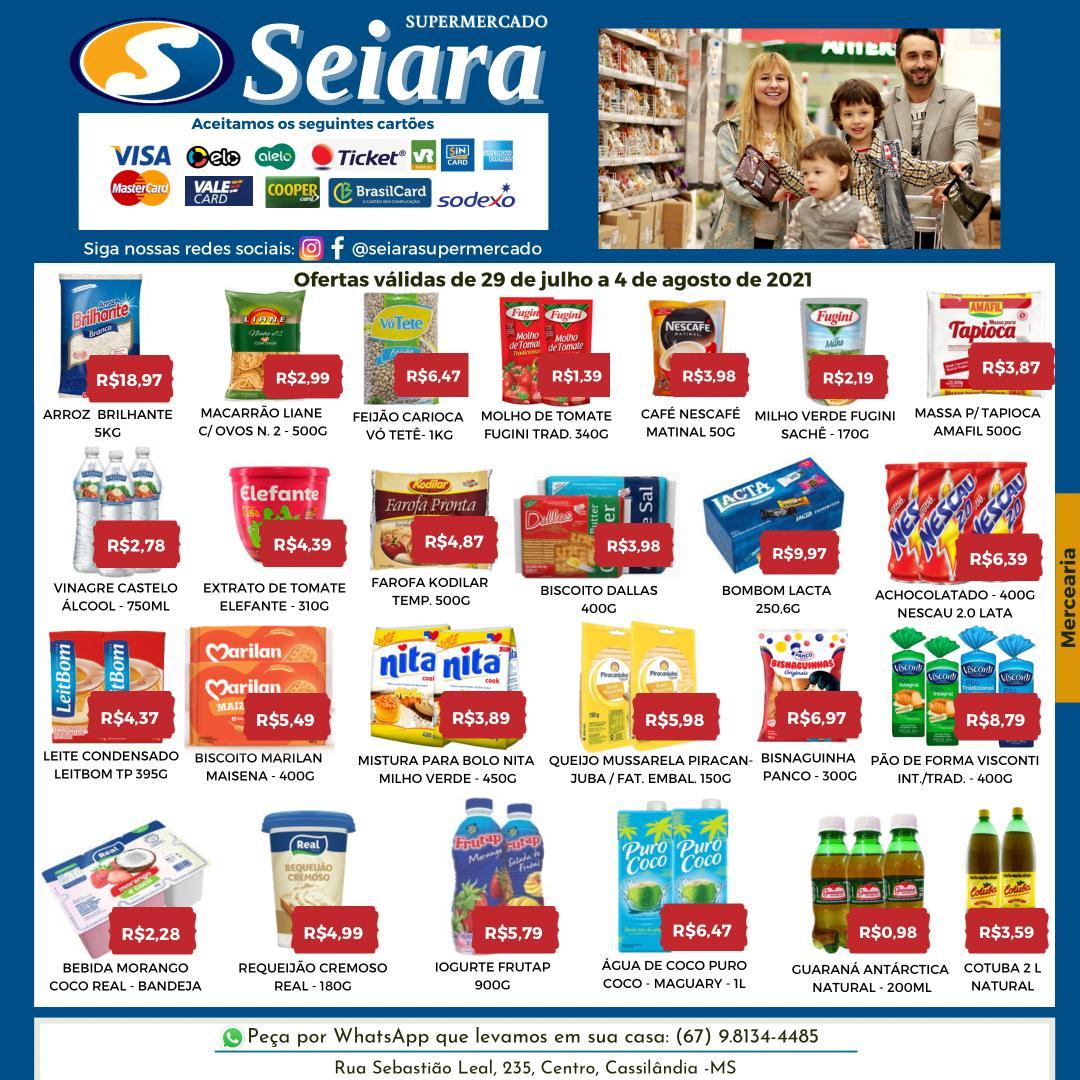 Seiara Supermercado Econômico: veja as novas ofertas da semana