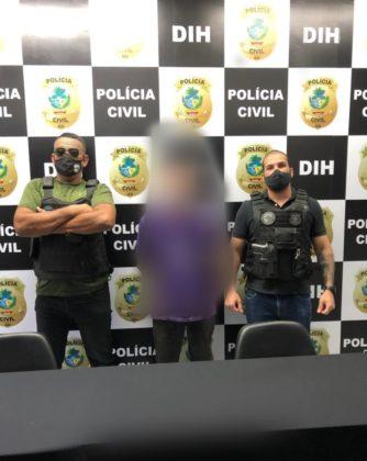 Polícia cumpre mandado de prisão de investigado de matar a companheira