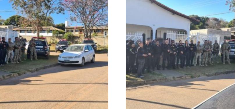 Polícia umpre mandados de prisão e buscas em Goiás e DF contra o tráfico de drogas