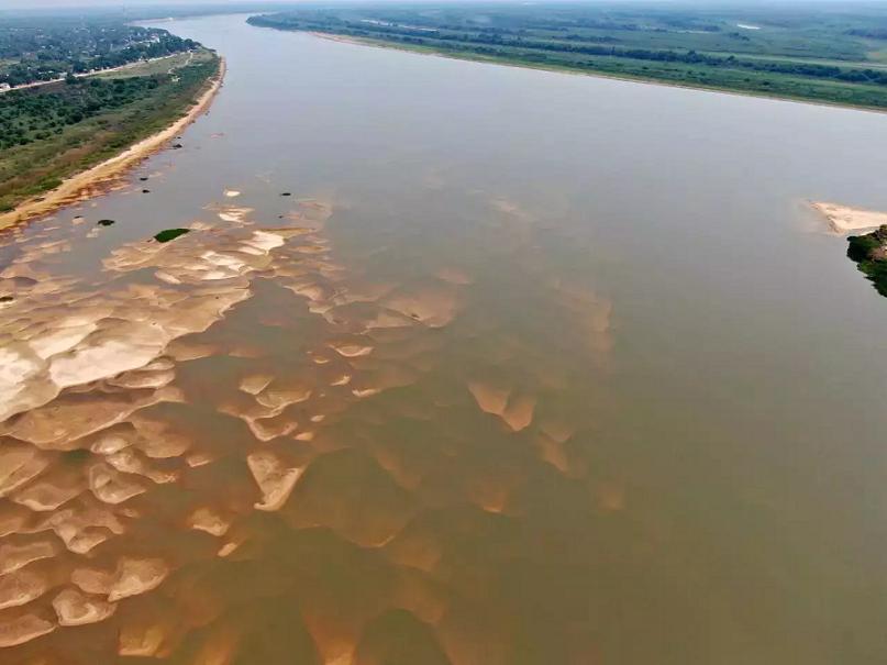 Rio Paraguai já atinge nível negativo e indica seca pior que em 2020