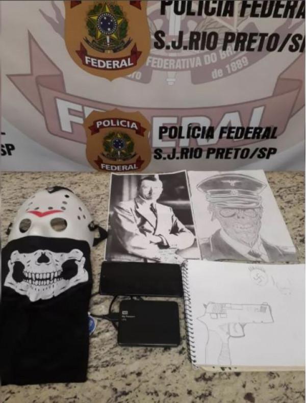 PF cumpre busca e apreensão contra crime de discriminação e divulgação do nazismo