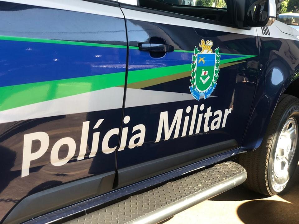 Polícia Militar cumpre mandado de prisão em desfavor de indivíduo de 46 anos