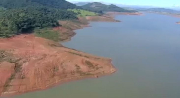 Usina hidrelétrica de Ilha Solteira opera com apenas 1% da capacidade