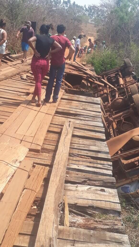 Identificado o jovem  que faleceu no acidente da ponte no Alto Tamandaré