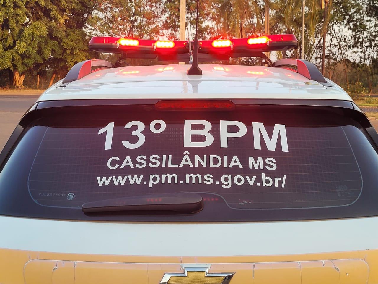 Polícia Militar prende dois indivíduos por cometerem crimes de trânsito em Cassilândia
