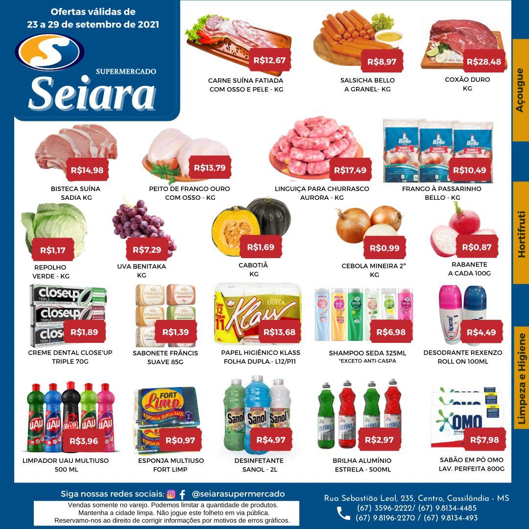 Seiara Supermercado Econômico: confira as novas promoções da semana