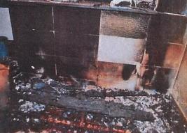 Presa mulher investigada por atear fogo na casa para matar seu companheiro, em Rio Verde