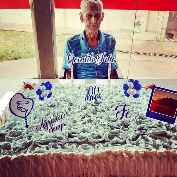 Cassilandense comemora 100 anos de idade no Lar dos Idosos