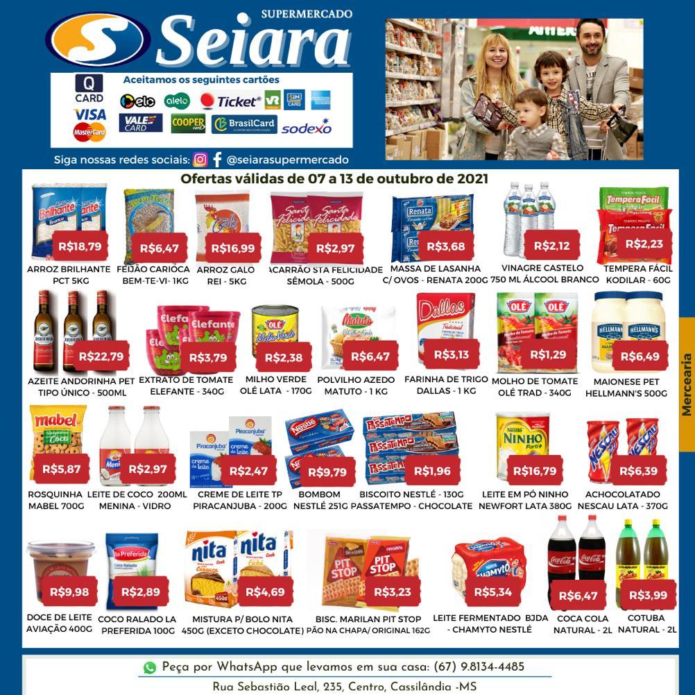 Seiara Supermercado Econômico: confira as ofertas que vão até hoje