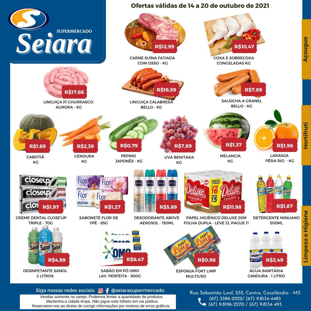 Seiara Supermercado Econômico: confira o novo folheto de ofertas da semana