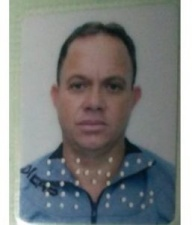Adeilson Inácio dos Santos, 46 anos, natural de Mantena (MG) faleceu no local