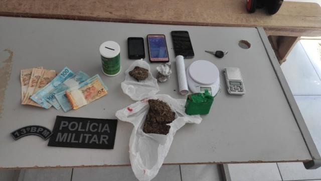 Polícia Militar  e Polícia Civil prendem mais um traficante em Cassilândia