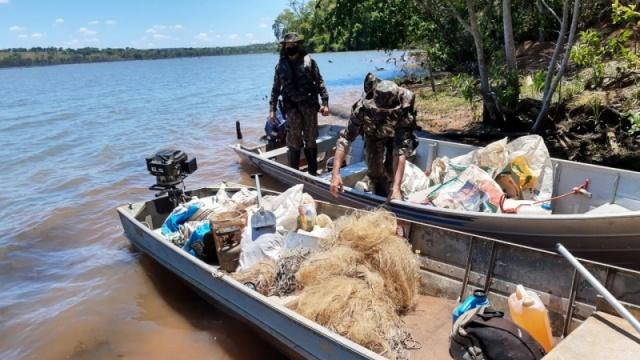 Foto: Polícia Militar Ambiental de Cassilândia