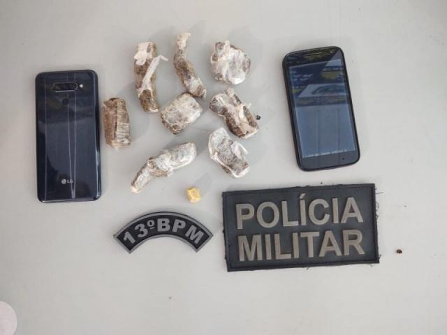 Policia Militar prende três jovens por tráfico de drogas em Cassilândia